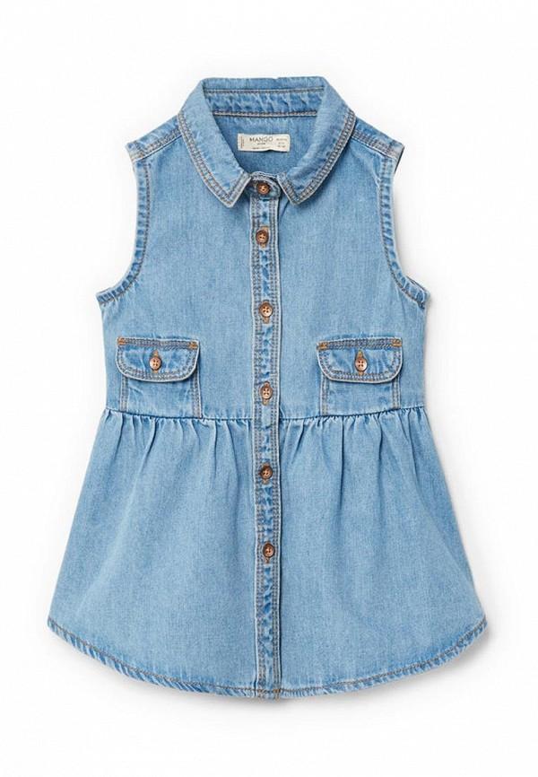Платье джинсовое Mango Kids Mango Kids MA018EGAQYC3 свитшоты mango kids свитшот nobo
