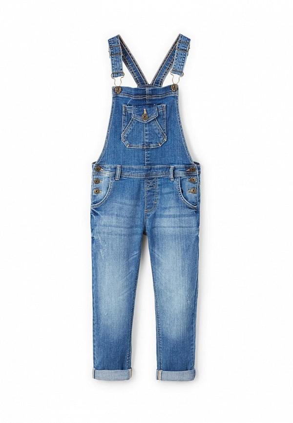 где купить Комбинезон джинсовый Mango Kids Mango Kids MA018EGAQYG8 по лучшей цене