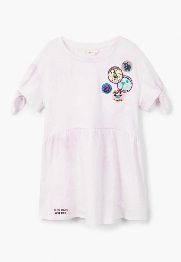 Фото Платье Mango Kids. Купить с доставкой