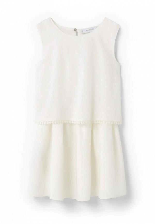 Повседневное платье Mango Kids (Манго Кидс) 63007634
