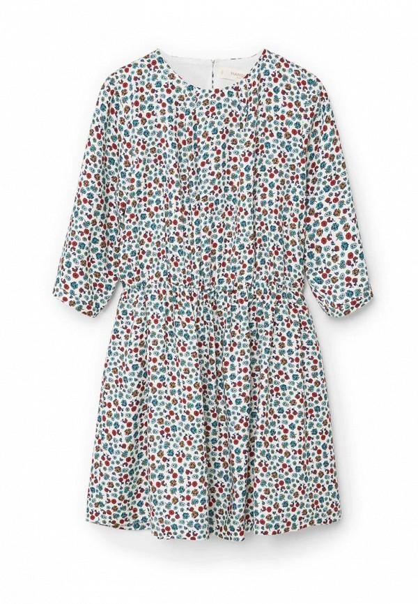 Повседневное платье Mango Kids (Манго Кидс) 71080322
