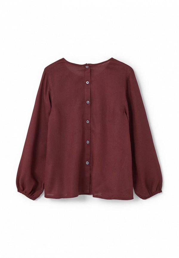 Блузки На Девочек Бордового Цвета
