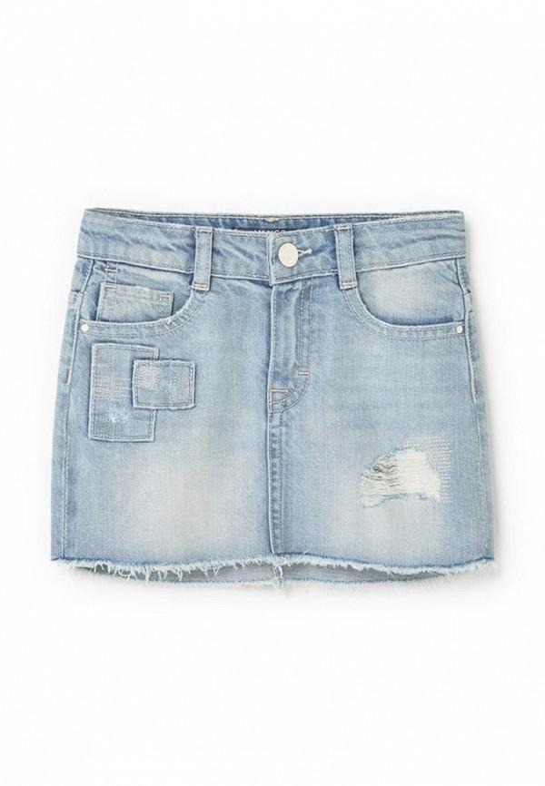 Юбка джинсовая Mango Kids 83045516