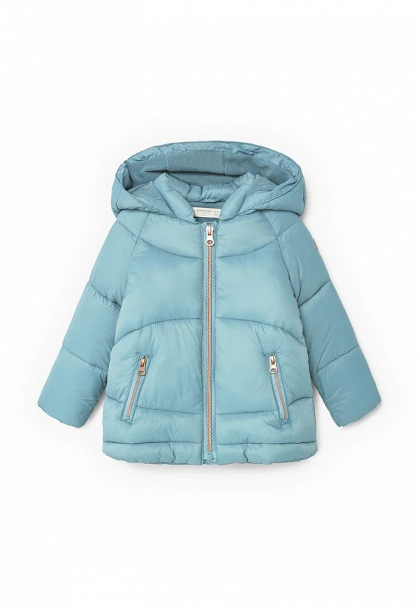 Фото Куртка утепленная Mango Kids. Купить с доставкой