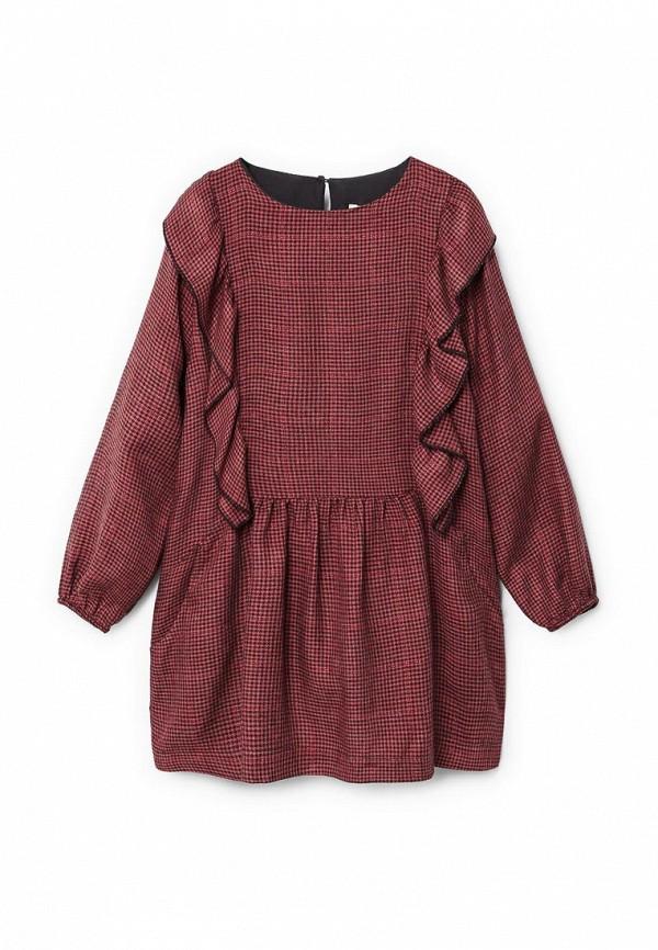 Фото - Платье Mango Kids красного цвета
