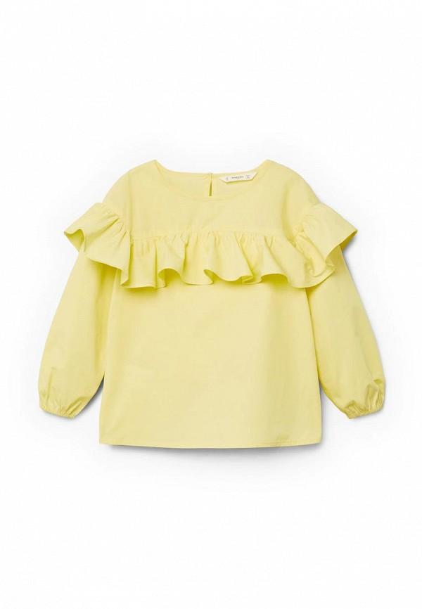 Блуза Mango Kids Mango Kids MA018EGZZI73 блуза mango mango ma002ewvcx57
