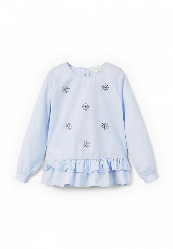 Блуза Mango Kids Mango Kids MA018EGZZK29 юбка mango kids mango kids ma018egqrd25