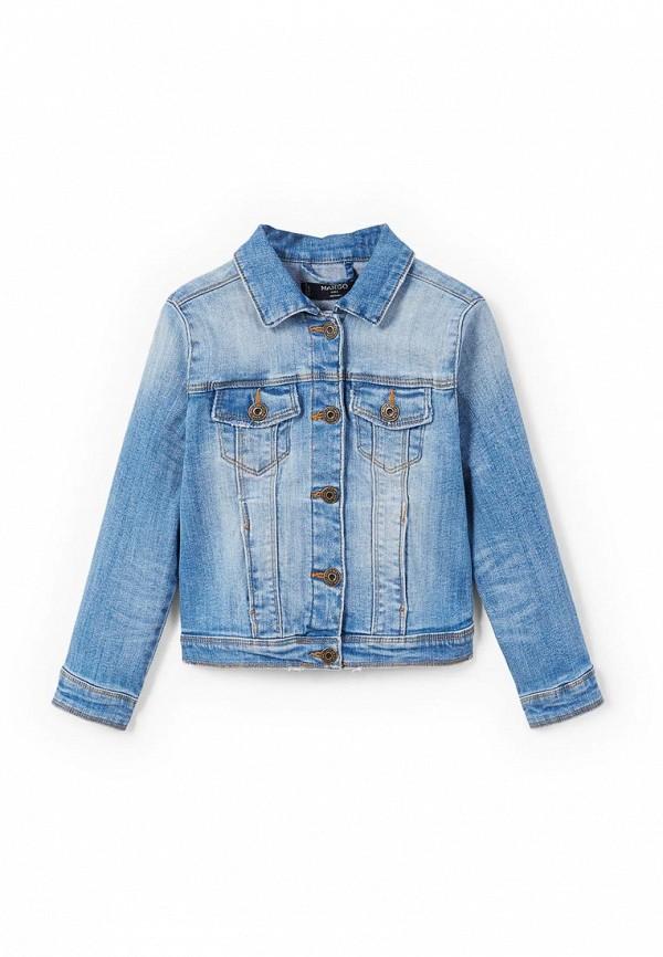 Куртка джинсовая Mango Kids Mango Kids MA018EGZZP87 куртка кожаная mango mango ma002ewvur15