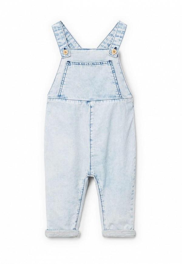 где купить Комбинезон джинсовый Mango Kids Mango Kids MA018EKAQYB4 по лучшей цене