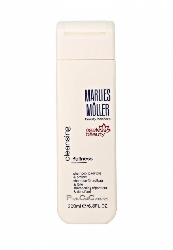 Шампунь Marlies Moller Marlies Moller MA084LWBUF48 шампуни marlies moller ежедневный восстанавливающий обогащенный шампунь softness