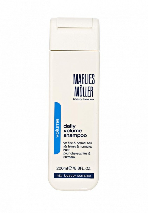 Шампунь Marlies Moller Marlies Moller MA084LWBUF99 шампуни marlies moller ежедневный восстанавливающий обогащенный шампунь softness