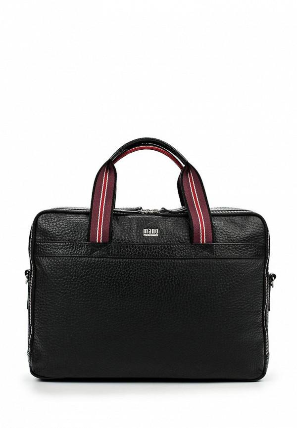 Кожаная сумка Mano 19506 black