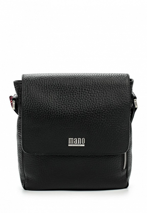 Кожаная сумка Mano 19501 black