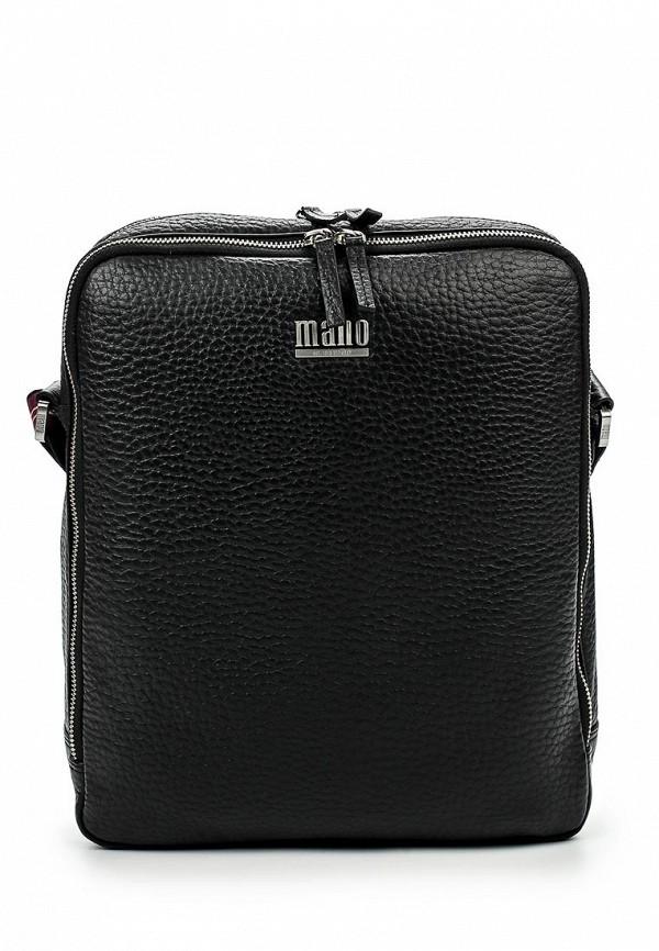 Кожаная сумка Mano 19504 black