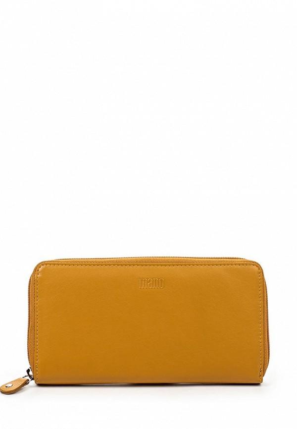 Кошелек Mano 14659 yellow