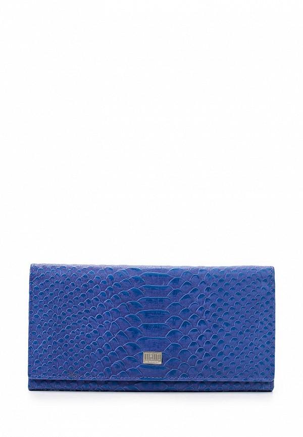 Кошелек Mano 20150 Croco blue