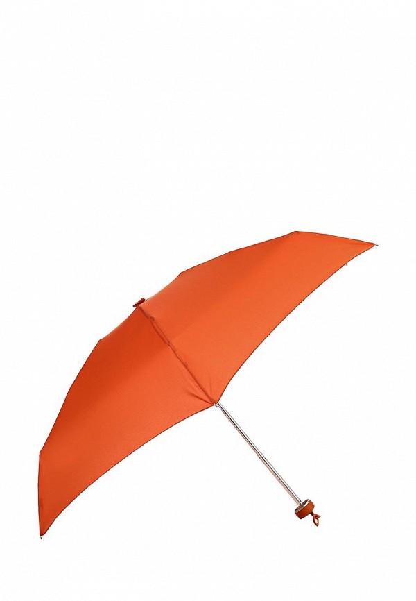 Женский красный немецкий осенний складной зонт