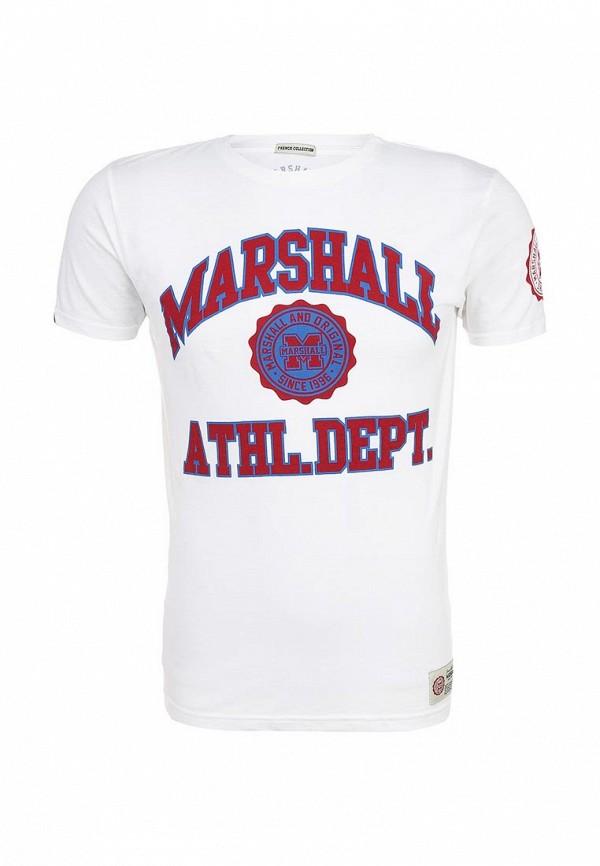 Футболка с надписями Marshall Original TS 2340