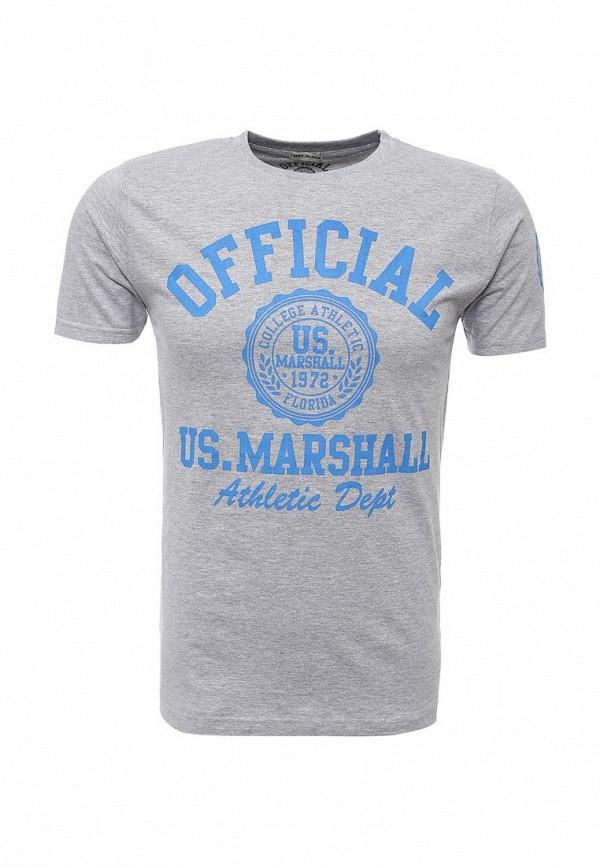 Футболка с надписями Marshall Original TS OFFICIAL