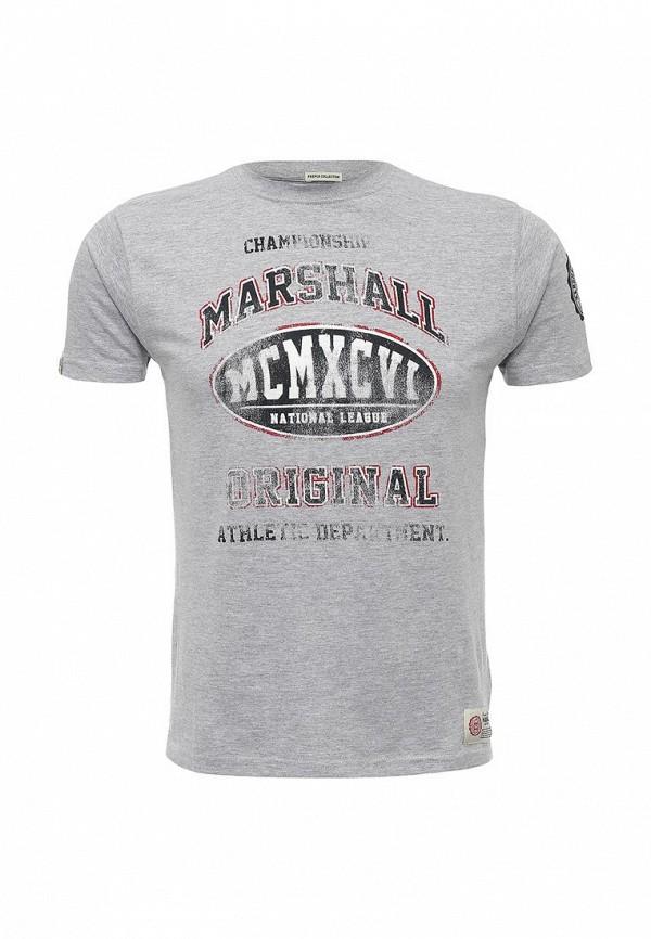 Футболка с надписями Marshall Original TS 1996