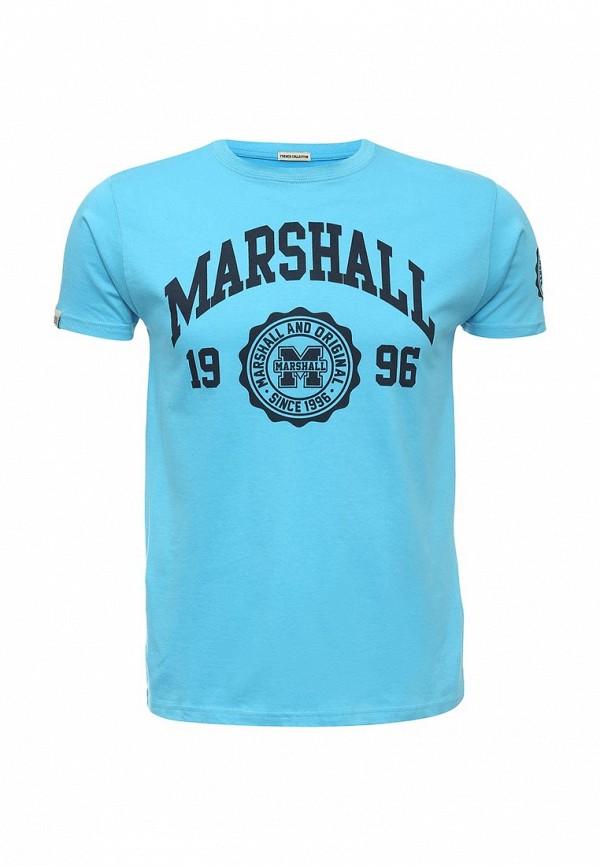 Футболка с надписями Marshall Original TS EBL001