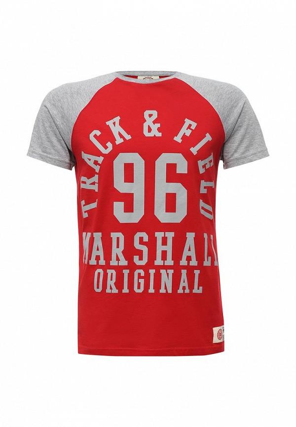 Футболка Marshall Original Marshall Original MA091EMSZF73 брюки спортивные marshall original marshall original ma091emszf56