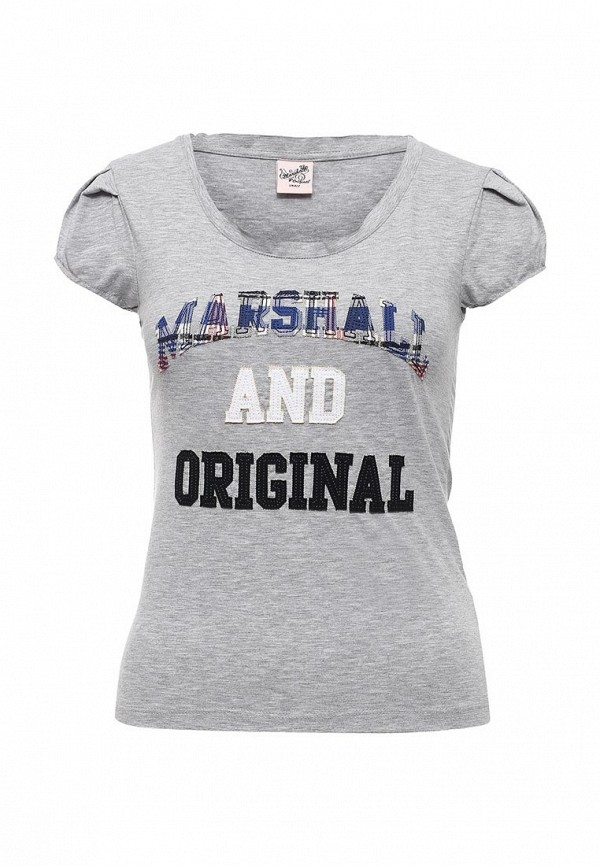 Футболка с надписями Marshall Original PASTEQUE