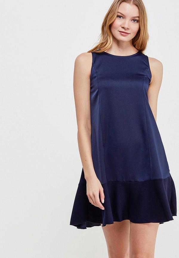 Купить Платье Massimiliano Bini, MA093EWANPW1, синий, Весна-лето 2018