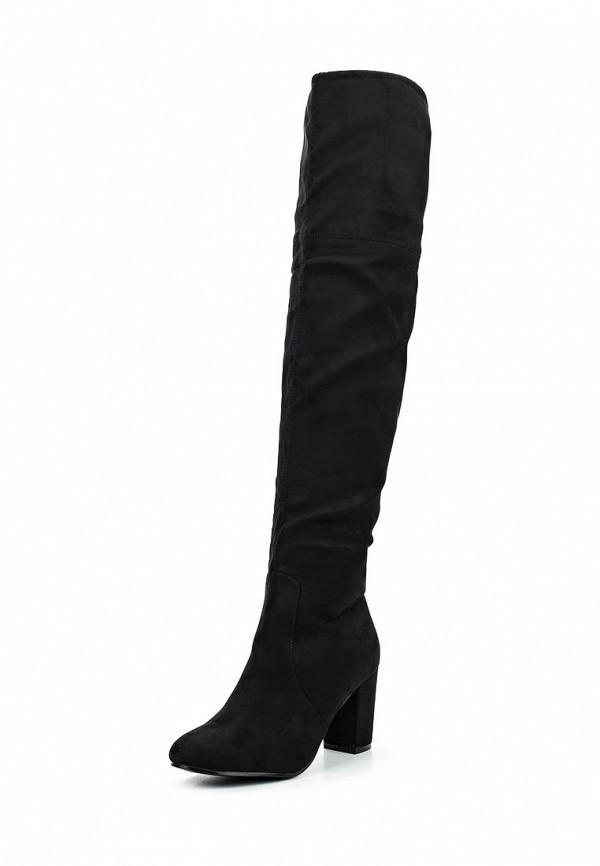 Ботфорты Max Shoes. Цвет: черный