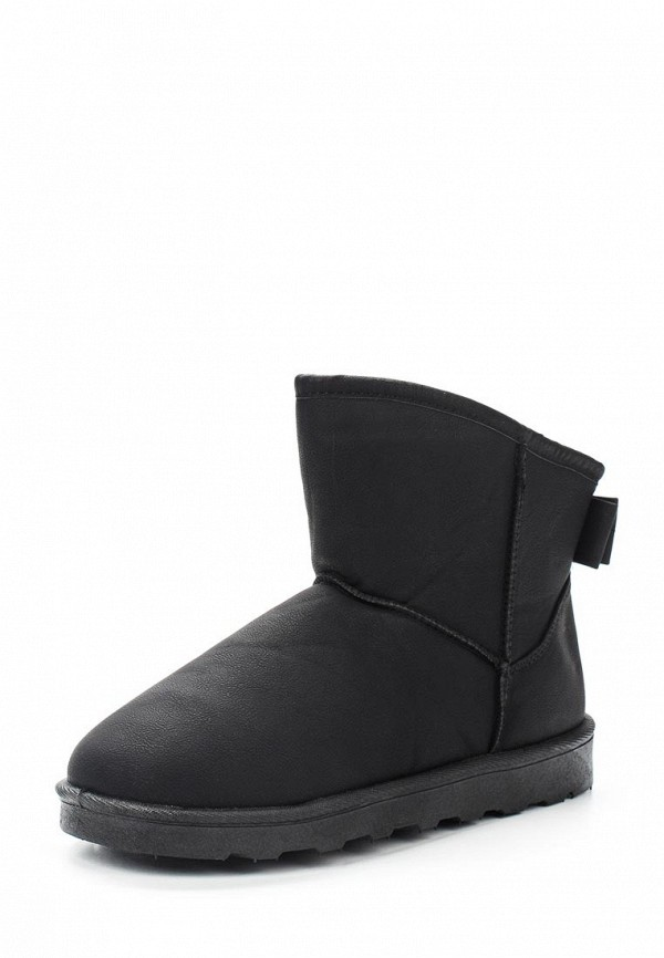 Полусапоги Max Shoes. Цвет: черный