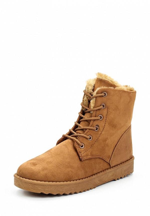 Ботинки Max Shoes. Цвет: коричневый