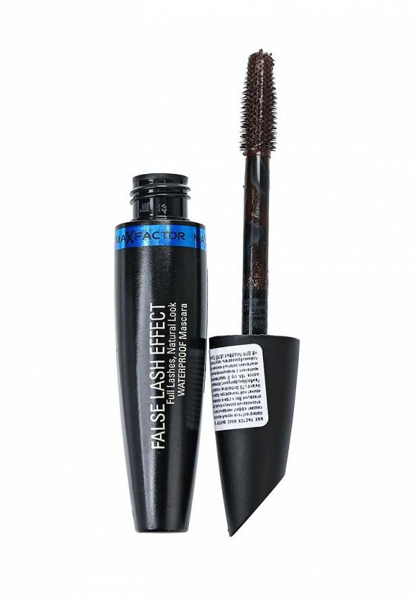Тушь Max Factor Для Ресниц Водостойкая С Эффектом Накладных Ресниц False Lash Effect Full Lashes Natural Look Waterproof Mascara Black brown