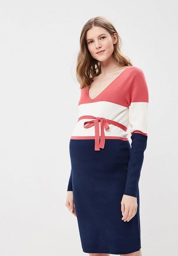 Купить Платье Mamalicious, MA101EWZWJ34, синий, Весна-лето 2018