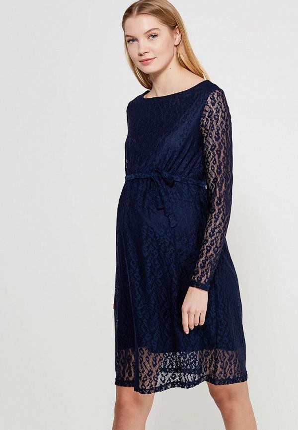 Купить Платье Mamalicious, MA101EWZWJ35, синий, Весна-лето 2018