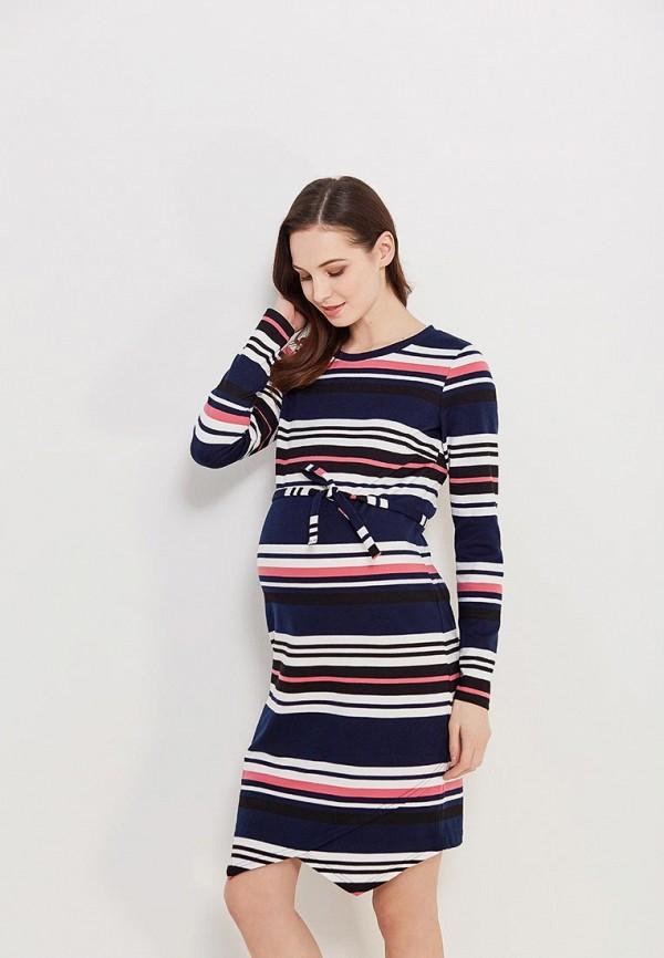 Купить Платье Mamalicious, MA101EWZWJ36, синий, Весна-лето 2018