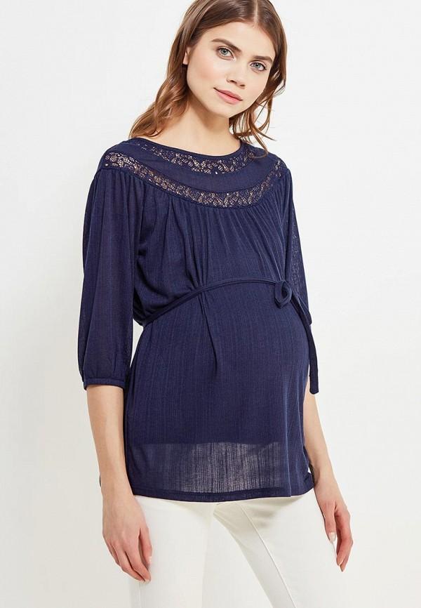 Блуза Mamalicious, MA101EWZWJ51, синий, Весна-лето 2018  - купить со скидкой