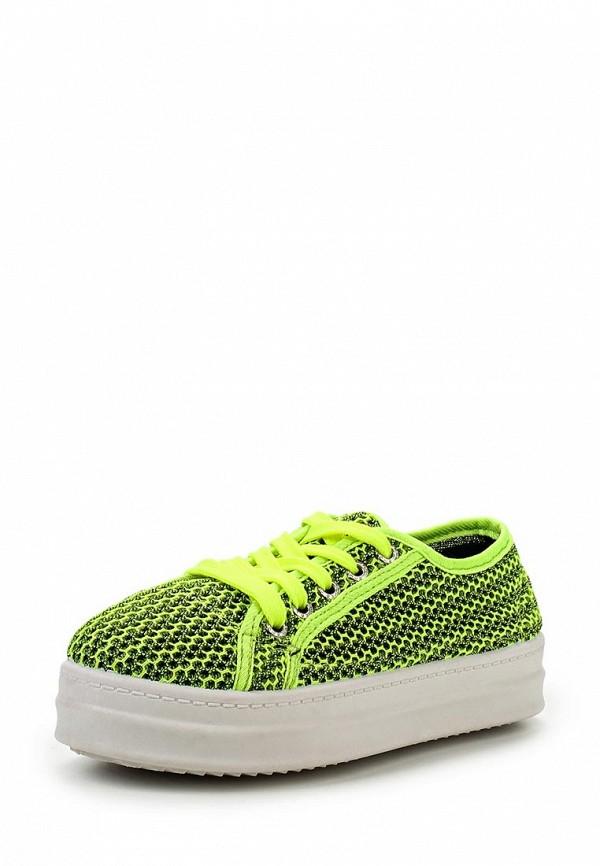 Купить Кеды Martin Pescatore зеленого цвета