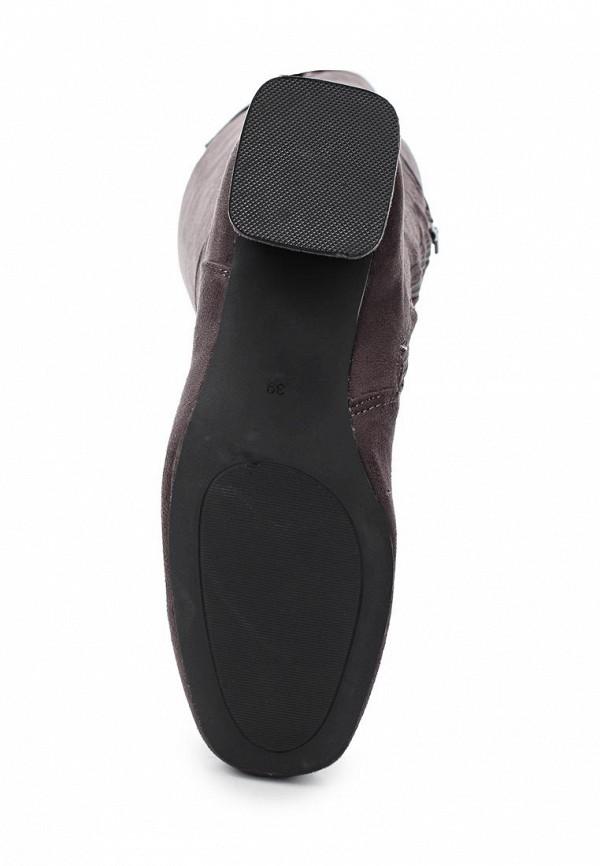 Фото 3 - женские ботфорты Martin Pescatore серого цвета
