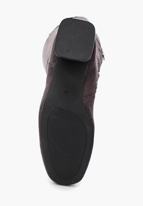 Фото 9 - женские ботфорты Martin Pescatore серого цвета