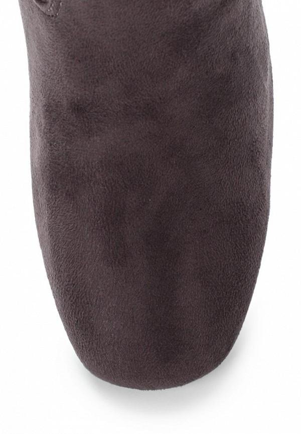 Фото 4 - женские ботфорты Martin Pescatore серого цвета