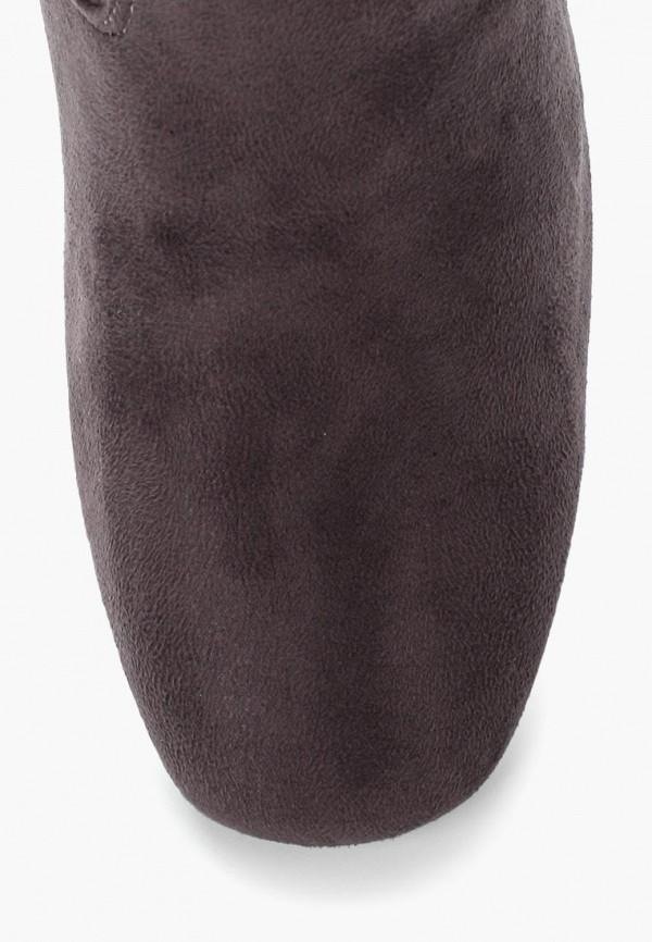 Фото 10 - женские ботфорты Martin Pescatore серого цвета