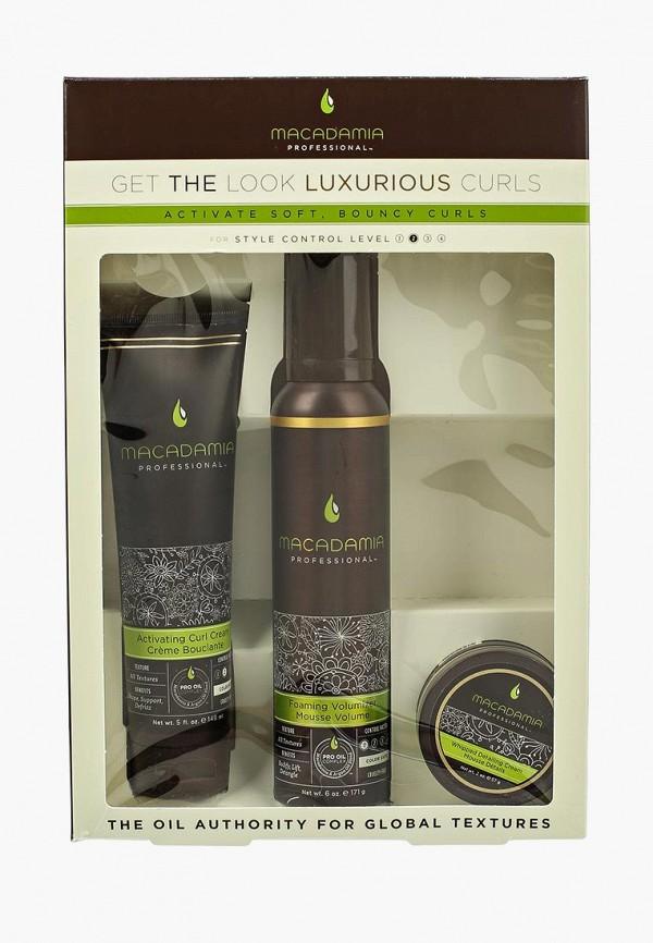 Купить Набор для ухода за волосами Macadamia Natural Oil, ШИКАРНЫЕ КУДРИ , MA109LWHIA40, Весна-лето 2018
