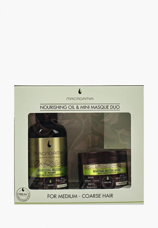 Купить Набор для ухода за волосами Macadamia Natural Oil, WEIGHTLESS MOISTURE TRIO SET, MA109LWSJU56, Весна-лето 2018