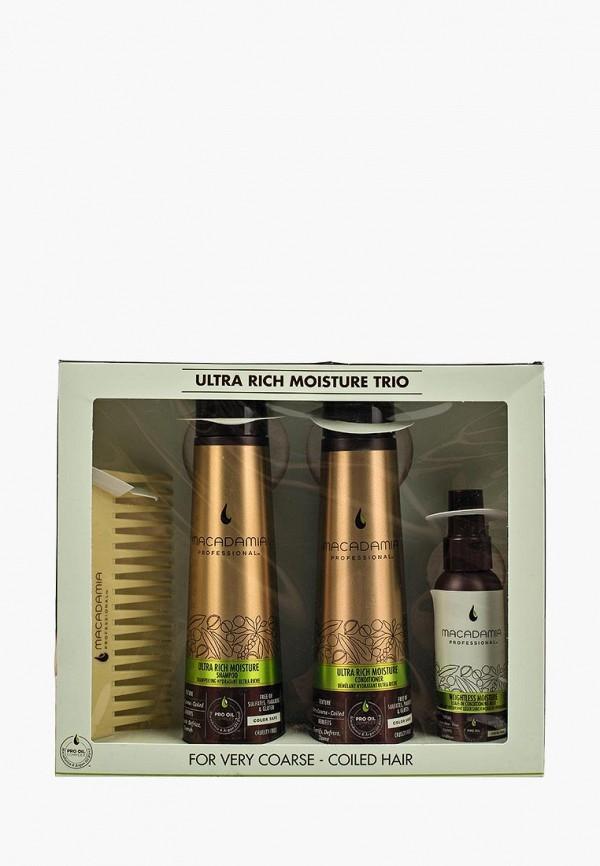 Купить Набор для ухода за волосами Macadamia Natural Oil, WEIGHTLESS MOISTURE TRIO SET, MA109LWSJU57, Весна-лето 2018