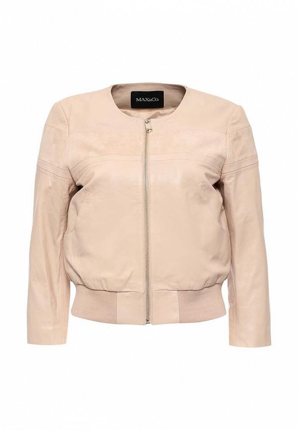Кожаная куртка MAX&Co 64449816