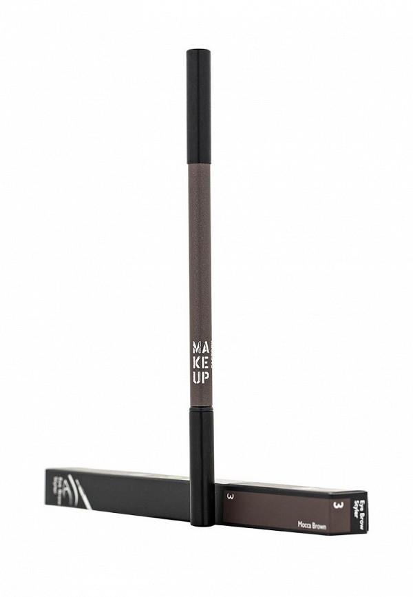Карандаш Make Up Factory для бровей Eye Brow Styler тон 3 коричневый-мокка