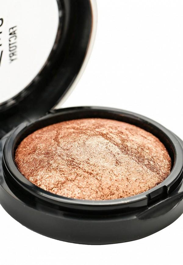 Тени Make Up Factory Запеченные одинарные  тени для глаз Eye Shadow тон 33 золотой бежевый
