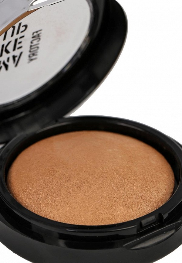 Тени Make Up Factory Запеченные одинарные для глаз Eye Shadow тон 39 сахара бежевый