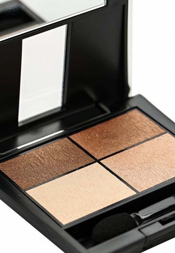Тени Make Up Factory 4-х цветные для глаз Eye Colors тон 14 коричневая бронза, бронза, св.бронза, светлый лосось