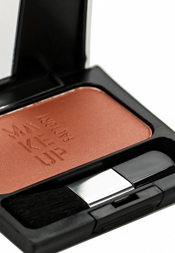 Румяна Make Up Factory компактные шелковистые Blusher тон 25 коричневая охра